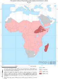 Africa Regions Map by Africa Shrinking The Malaria Map