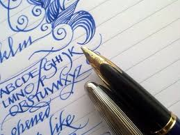 paper for fountain pen writing 218 best fountain pens images on pinterest hand type aquarius