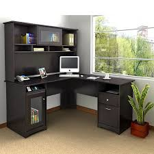 black corner desk with hutch 120 nice decorating with sauder wood