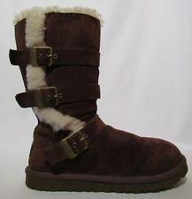 womens ugg maddi boots ugg australia mid calf pull on suede s boots ebay