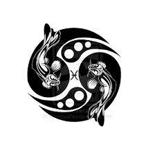 tribal pisces koi design by shadowkira on deviantart tattoos