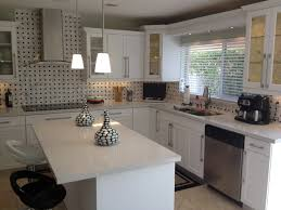 Two Tone Kitchen Cabinets Brown And White Large Image For Great - Miami kitchen cabinets