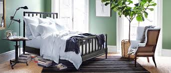 ralph lauren volute green bedroom interiors by color