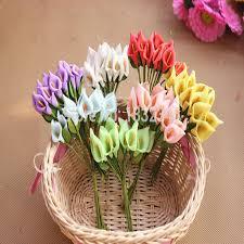 Free Shipping Flowers Aliexpress Com Buy Free Shipping 12pcs Lot Artificial Pe Mini