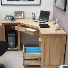 Wooden Corner Computer Desks For Home Amish Office Furniture Solid Wood Mission Corner Computer Desk For