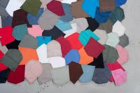 brc designs u0027 one of a kind pocket rugs are a patchwork of recycled