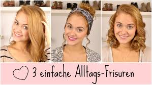 Frisuren Mittellange Haar by No More Bad Hair Day 3 Einfache Frisuren Schulterlange Haare