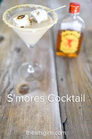 martini smore s u0027mores cocktail summer drink recipe