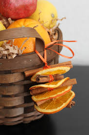dried orange and cinnamon ornaments dried daily squeeze