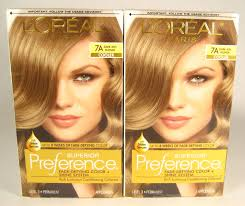 2 loreal superior preference level 3 permanent hair color 7a dark