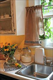 Bamboo Kitchen Curtains Kitchen Yellow Gingham Curtains Country Lace Curtains Cheap