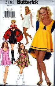 Butterick Halloween Costume Patterns Butterick 3185 Women U0027s Costume Pattern 3185 10 00