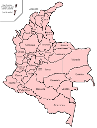 Map Of Colombia Map Of Colombia Administrative Divisions Worldofmaps Net