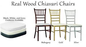 chaivari chairs chiavari chairs dpc event services