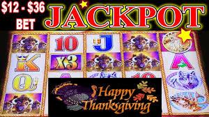 happy thanksgiving jackpot handpay buffalo gold 12