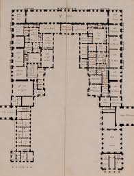 Huge Mansion Floor Plans First Floor Plan Château De Versailles 1814 It Shows The Pre