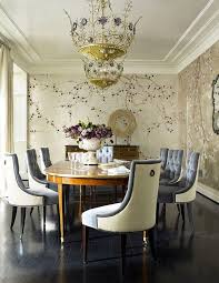 Wallpaper For Dining Room by Best 25 Chinoiserie Wallpaper Ideas On Pinterest Powder Rooms