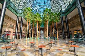 new york city august 29 winter garden atrium was once connected