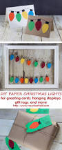 Diy Christmas Lights by Diy Paper Christmas Lights Decoration U2022 Rose Clearfield