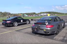Nissan Gtr Alpha 12 - video epic porsche drag racing twosome and a lonely gt r