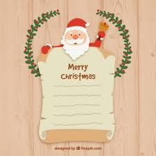 santa claus letters free vector santa claus letter template 30128 my graphic hunt