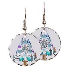 chemist earrings surgical steel earrings chemist earrings