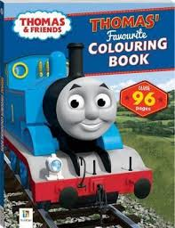 thomas friends thomas u0027 favourite colouring book 9781743632987