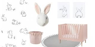chambre lapin déco chambre de bébé lapin pour une ambiance de rêve et de poésie