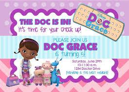 birthday invites popular doc mcstuffins birthday invitations