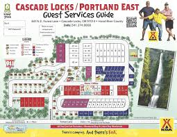 Portland Tourist Map by Cascade Locks Oregon Area Attractions And Activities Cascade