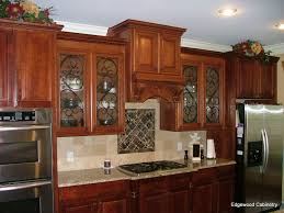 Kitchen Cabinet Doors With Glass Fronts by How Glass Front Cabinets Can Enhance Your Kitchen Edgewood Cabinetry