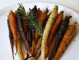 roasted whole carrots with rosemary and honey