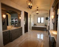 bathroom with iron chandeliers this gorgeous traditional master