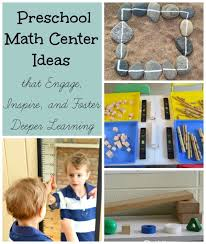 center ideas remarkable preschool math center ideas how wee learn