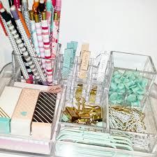 my desk organization acrylic organizer target dollar spot Desk Supplies For Office