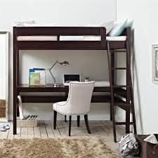 Loft Bed With Desk For Teenagers Dorel Living Dorel Living Harlan Loft Bed With Desk Espresso