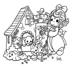 precious moments animals coloring pages animal u0027s little house
