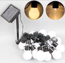 Solar Powered Outdoor Led String Lights by Online Get Cheap 20bulbs String Fairy Lights Aliexpress Com
