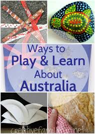 australia activities for kids crafts books and fun about