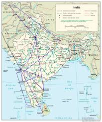 Map Nepal India by Map Of India