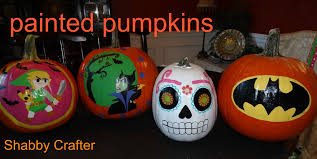 how to paint halloween pumpkins youtube