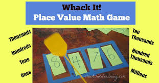 20 hands on ways to teach place value elementary hands on math