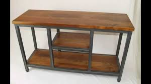 Custom Metal And Wood Furniture Four Fields Industrial Furniture Custom Furniture Maker