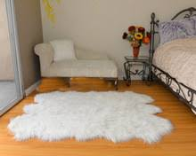 popular faux white rug buy cheap faux white rug lots from china