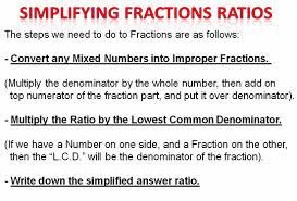 simplifying ratios passy u0027s world of mathematics