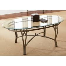 Glass Top Coffee Tables And End Tables Oval Glass Top Coffee Table Shoppaper Net