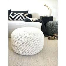 knitted pouf ottoman target poufs and ottomans lines pouf by poufs and ottomans wildlife