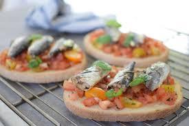cuisine marseille les bruschetta sardines et tomates lovalinda