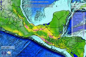 Mexico Precipitation Map by Uniatmos Unam