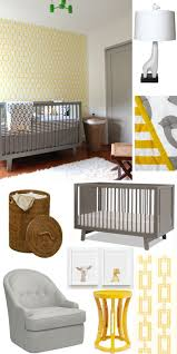 Gray And Yellow Nursery Decor Yellow Gray Nursery Decor Palmyralibrary Org